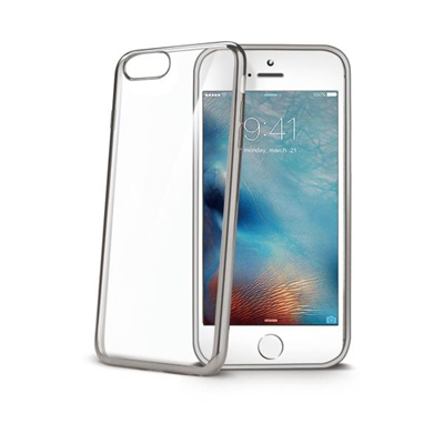 Image of   CELLY LASER EDGE COVER (APPLE IPHONE 7 PLUS SILVER)