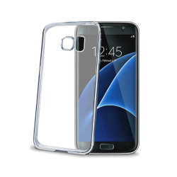 Image of   CELLY LASER EDGE COVER (SAMSUNG GALAXY S7 EDGE SILVER)
