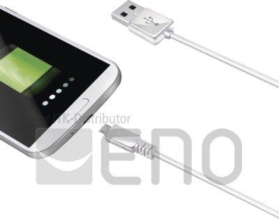 Image of   Celly USB-Datenkabel für Geräte mit Micro-USB Anschluss (1 m) white