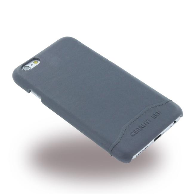 Image of   Cerruti 1881 - CEHCP6SLNA - Smooth Split - Leatherette Hard Case / Hard Cover - Apple iPhone 6 6s - Navy