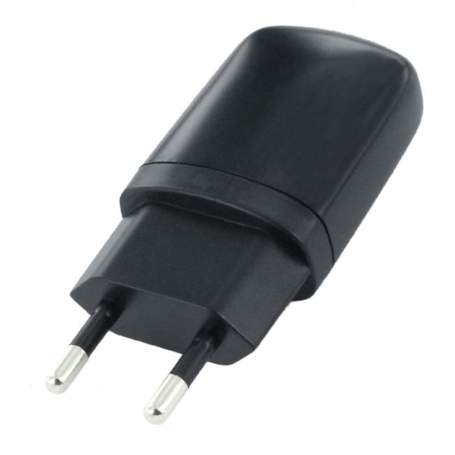 Image of   CLT-TC120 - Travel Charger Adapter - USB - Black - 1000mAh