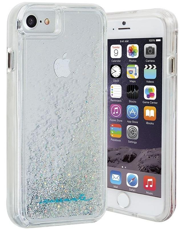 Billede af Case-mate Iridescent Cover til iPhone 6 & 6S & 7 waterfall med glitter effekt