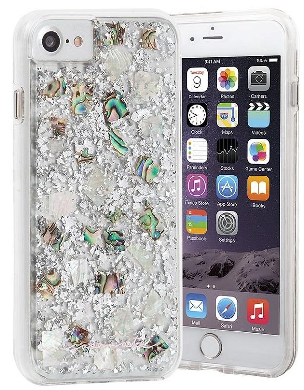 Billede af Case-Mate Karat Case for Apple iPhone 7/6s/6 in Pearl