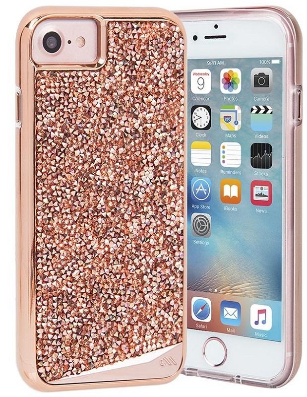 Billede af Case-Mate Brilliance Case for Apple iPhone 7/6s/6 in Rose Gold