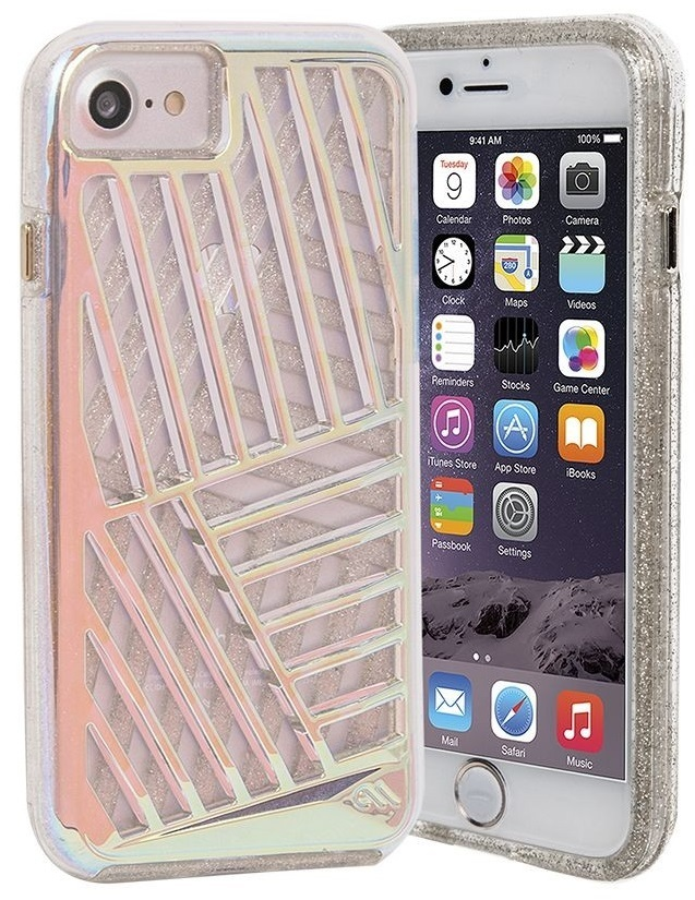 Billede af Case-Mate Tough Layers Case for Apple iPhone 7/6s/6 in Iridescent Cage