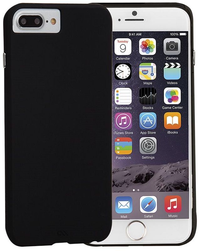 """Billede af iPhone 7 Plus / 6S Plus (5.5"""") Cover Case-mate Barely There Sort"""