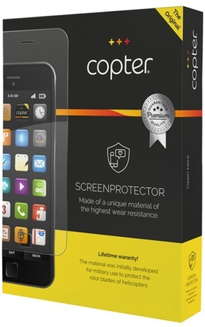 Billede af Copter Screenprotector full body film (for og bagside) til iPhone 7/8