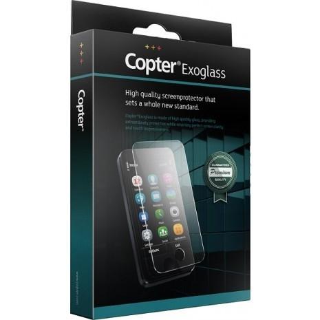 Billede af Copter Exoglass Full Fit Curved til iPhone X Hvid