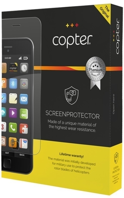 Billede af Copter Screenprotector Full Body til iPhone X