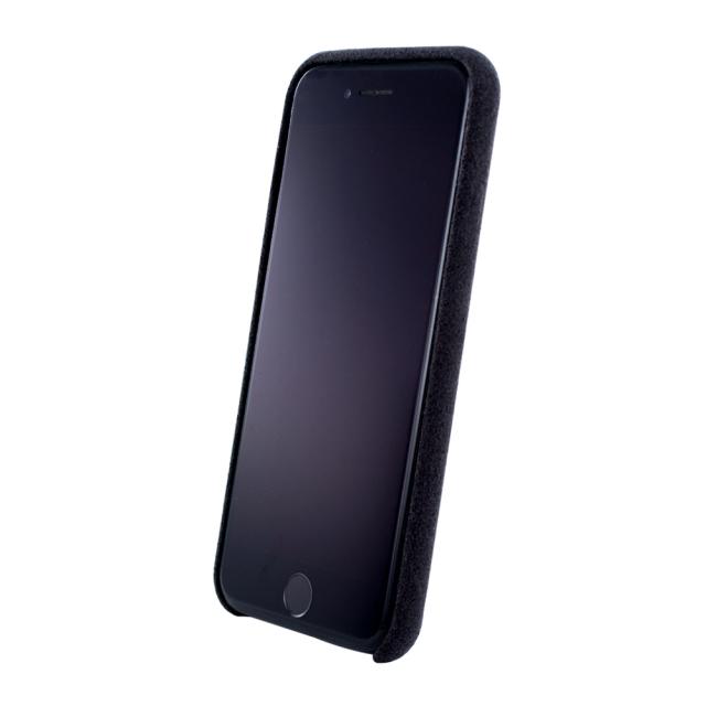 Image of   Cyoo - Alcantara Hardcase - iPhone 7 Plus and iPhone 8 Plus - Black
