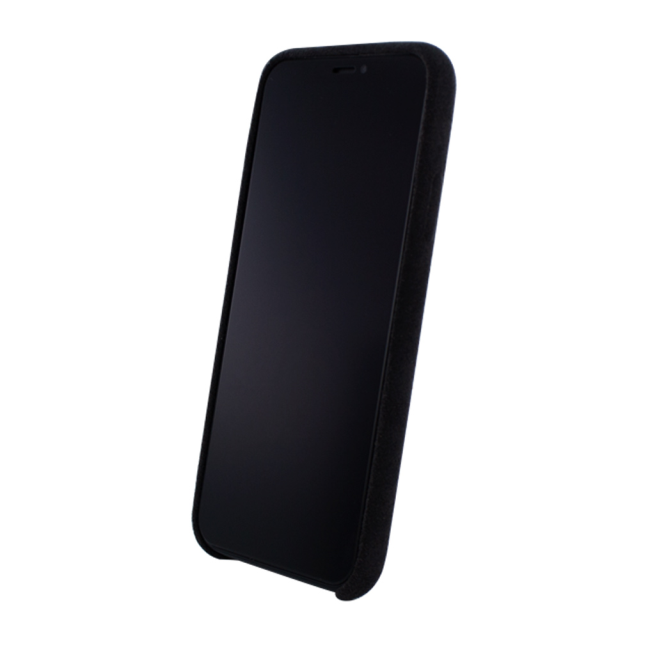 Image of   Cyoo - Alcantara Hardcase - iPhone X - Black