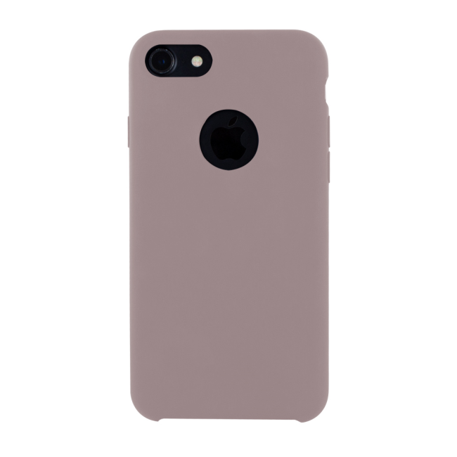 Image of   Cyoo - Premium Liquid Silicon Hard Cover - iPhone 7 - iPhone 8 - Pink