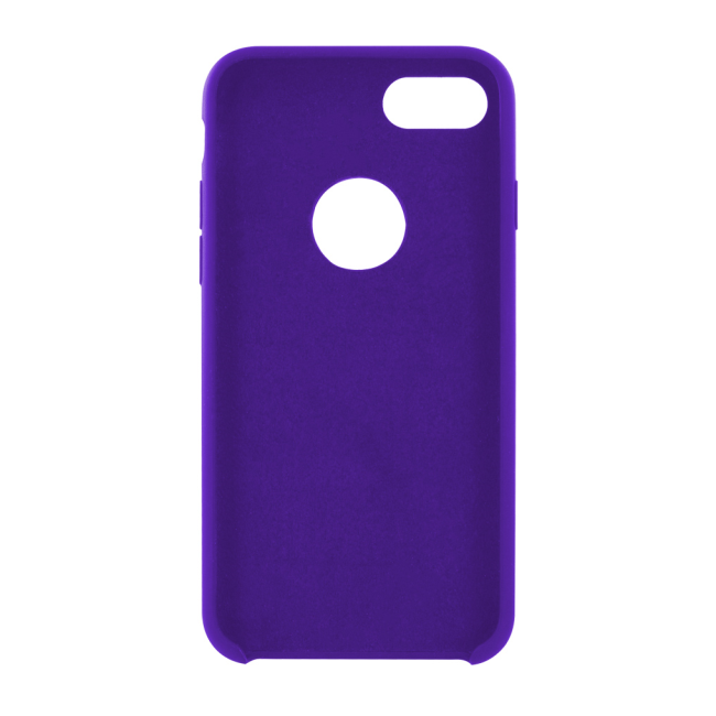 Image of   Cyoo - Premium Liquid Silicon Hard Cover - iPhone 7 - iPhone 8 - Purple