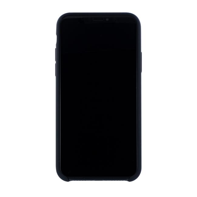 Image of   Cyoo - Premium Liquid Silicon Hard Cover - iPhone X - Black
