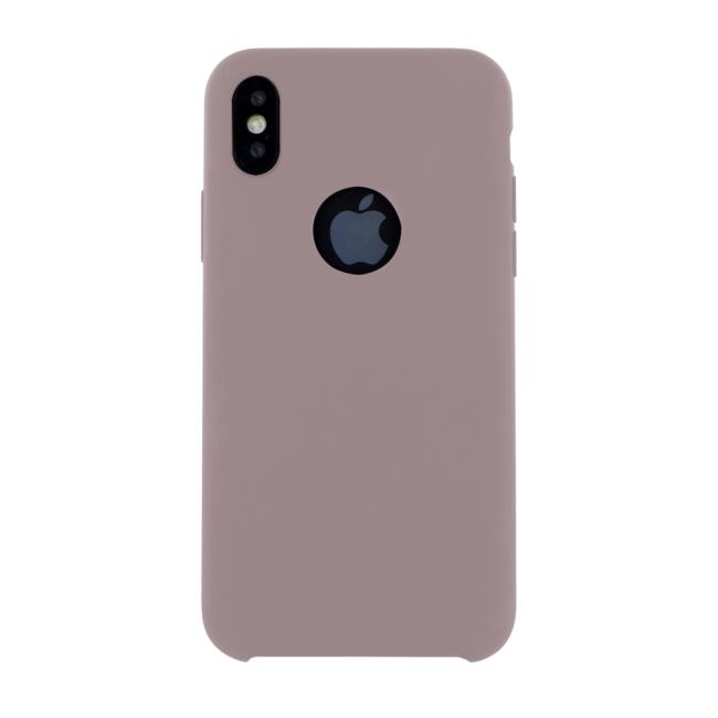 Image of   Cyoo - Premium Liquid Silicon Hard Cover - iPhone X - Pink