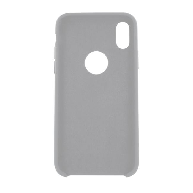 Image of   Cyoo - Premium Liquid Silicon Hard Cover - iPhone X - White