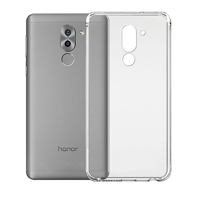 Image of   Cyoo - Ultra Slim - Silicone Cover - Huawei Honor 6X - Transparent