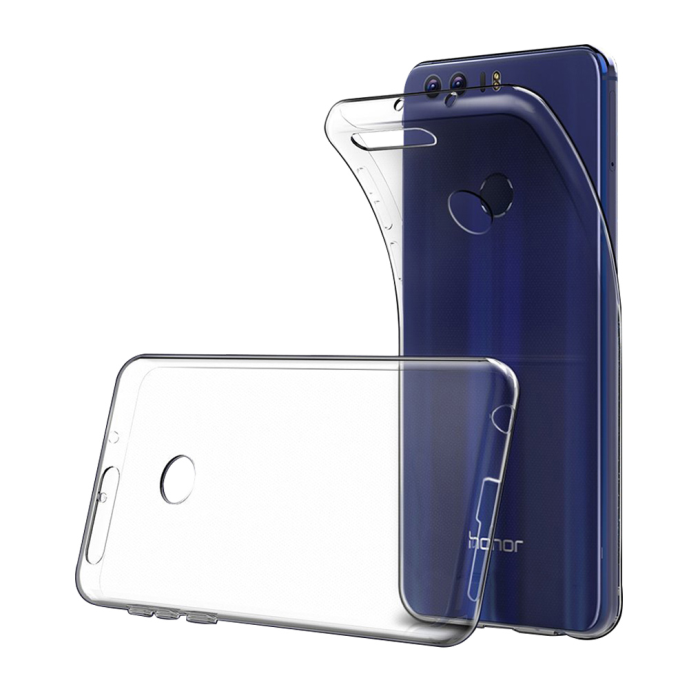 Image of   Cyoo - Ultra Slim - Silicone Cover - Huawei Honor 8 – Transparent