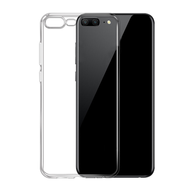 Image of   Cyoo - Ultra Slim - Silicone Cover - Huawei Honor 9 - Transparent