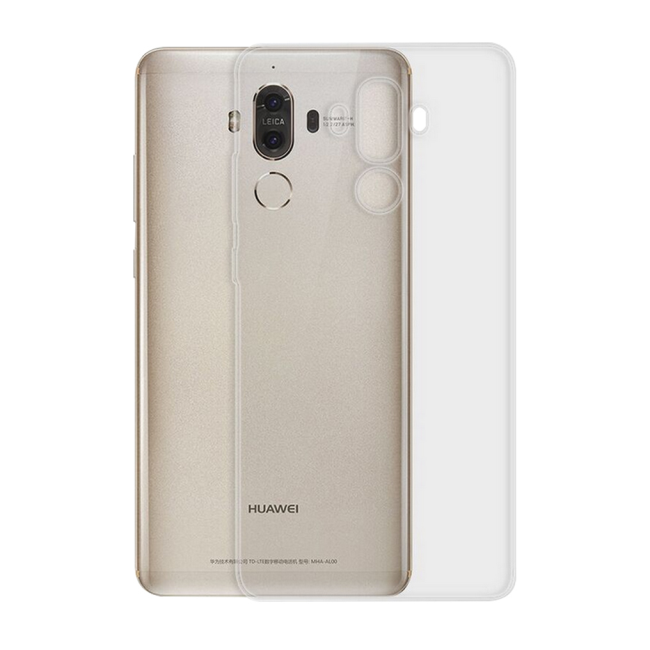 Image of   Cyoo - Ultra Slim - Silicone Cover - Huawei Mate 10 Lite - Transparent