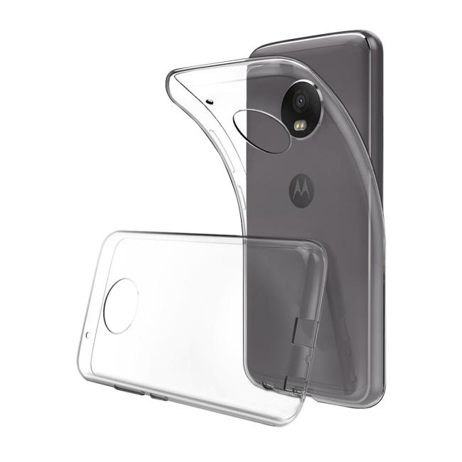 Image of   Cyoo - Ultra Slim - Silicone Cover - Motorola G5 - Transparent