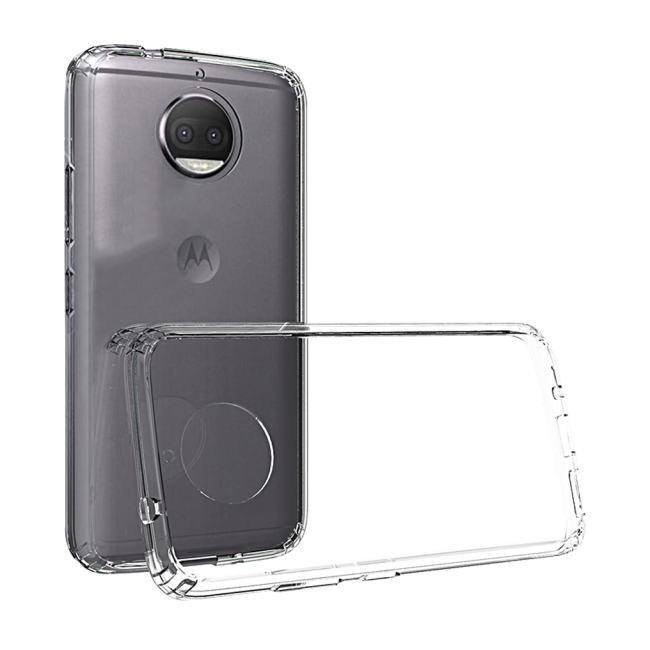Image of   Cyoo - Ultra Slim - Silicone Cover - Motorola G5s - Transparent