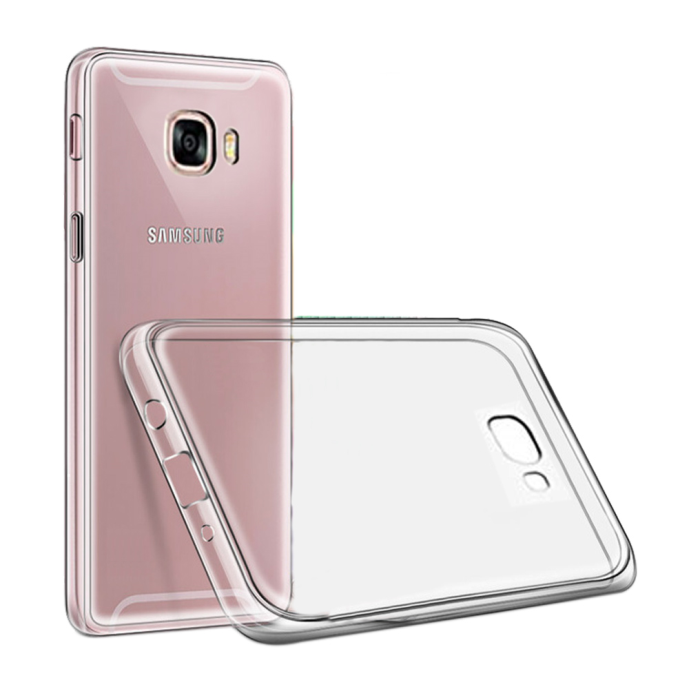 Image of   Cyoo - Ultra Slim - Silicone Cover – Samsung Galaxy J3 (2017) - Transparent
