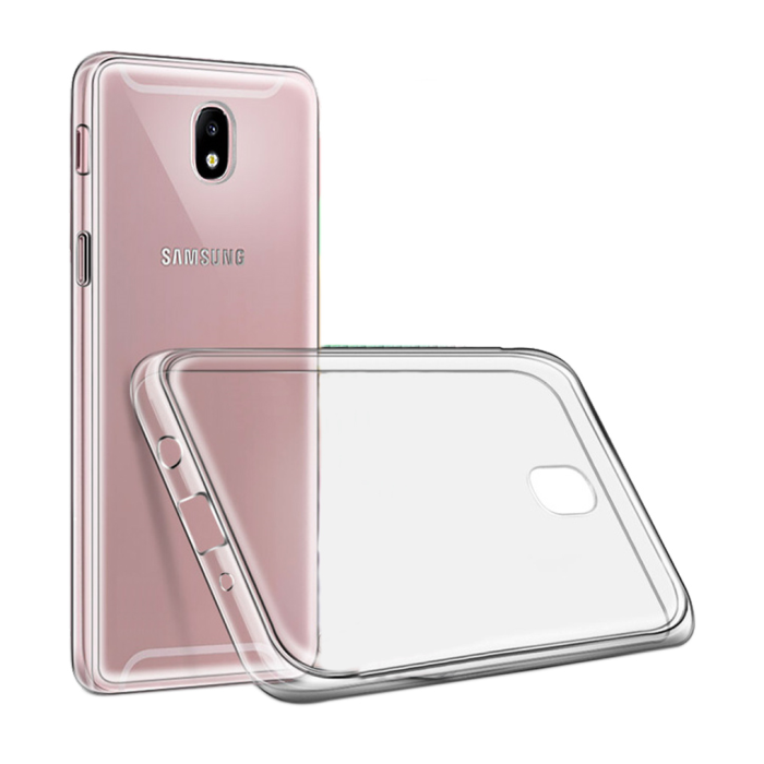 Image of   Cyoo - Ultra Slim - Silicone Cover – Samsung J7 (2017) - Transparent