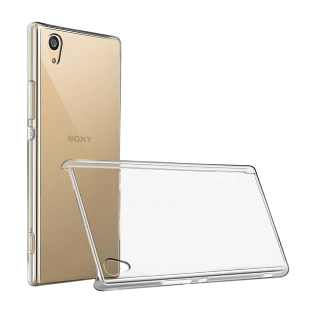 Image of   Cyoo - Ultra Slim - Silicone Cover - Sony Xperia XA1 - Transparent