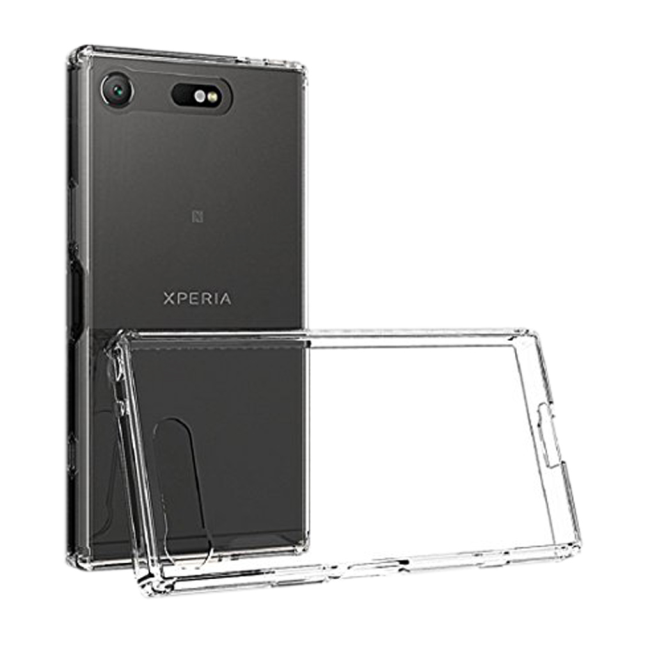 Image of   Cyoo - Ultra Slim - Silicone Cover - Sony Xperia XZ1 - Transparent