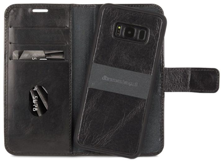 Billede af dbramante 1928 Lynge 2 Læder 2-i-1 cover Samsung Galaxy S8 Sort