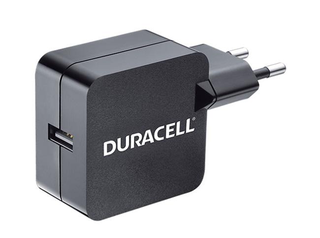 Image of   Duracell oplader uden kabel til smartphones 2.4A