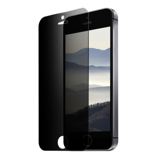 Image of   Eiger 2.5D Privacy SP Glass iPhone 5/5s/SE Black