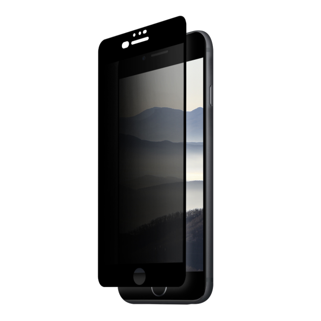 Image of   Eiger 3D Privacy SP Glass iPhone 8+/7+/6s+ Black
