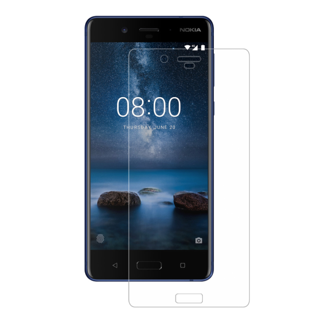 Eiger 3D Screen Protector Glass Nokia 8 Clear