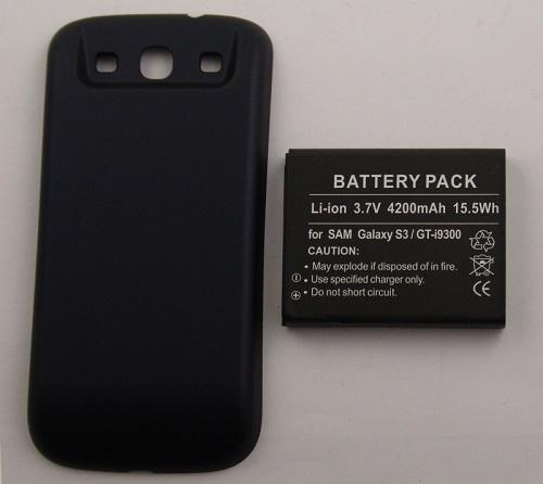 Billede af 4.200 mAh batteri til Samsung Galaxy S3 Ekstra kraftigt