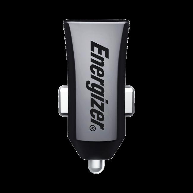 Billede af Energizer Hightech Universal Biloplader 2 USB 2.4A Sort