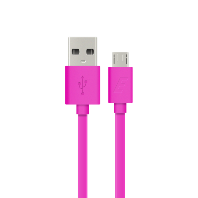 Image of   Energizer Micro USB cable flat 12m pink