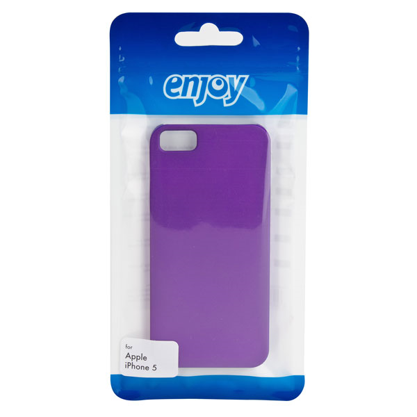 Billede af Enjoy Hard Shell for iPhone 5/5s purple