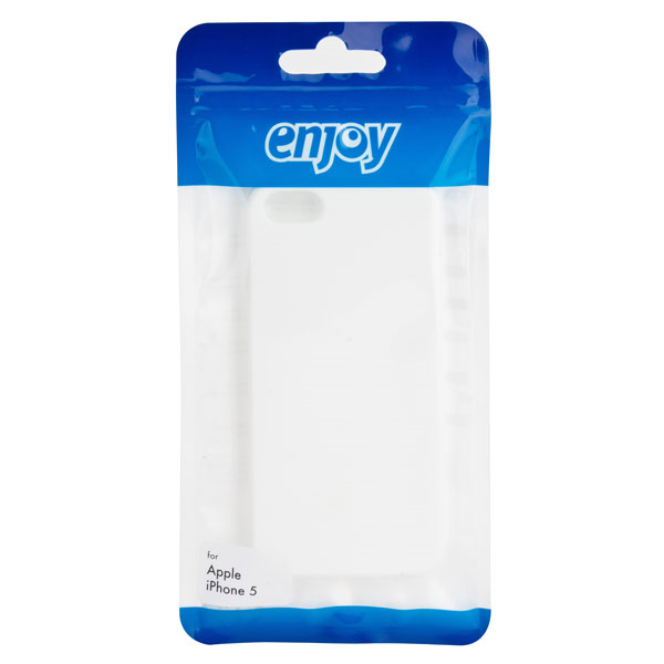 Image of   Enjoy Soft Grip Case for iPhone 5/5s white