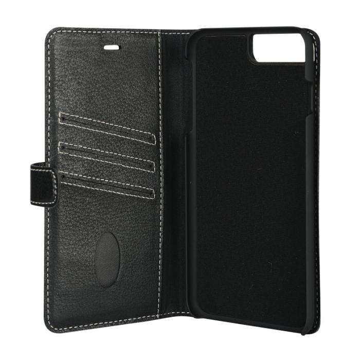 Image of   Essentials 2-i-1 Leather Wallet i ægte læder til Apple iPhone 6 Plus/6S Plus/7 Plus/8 Plus -