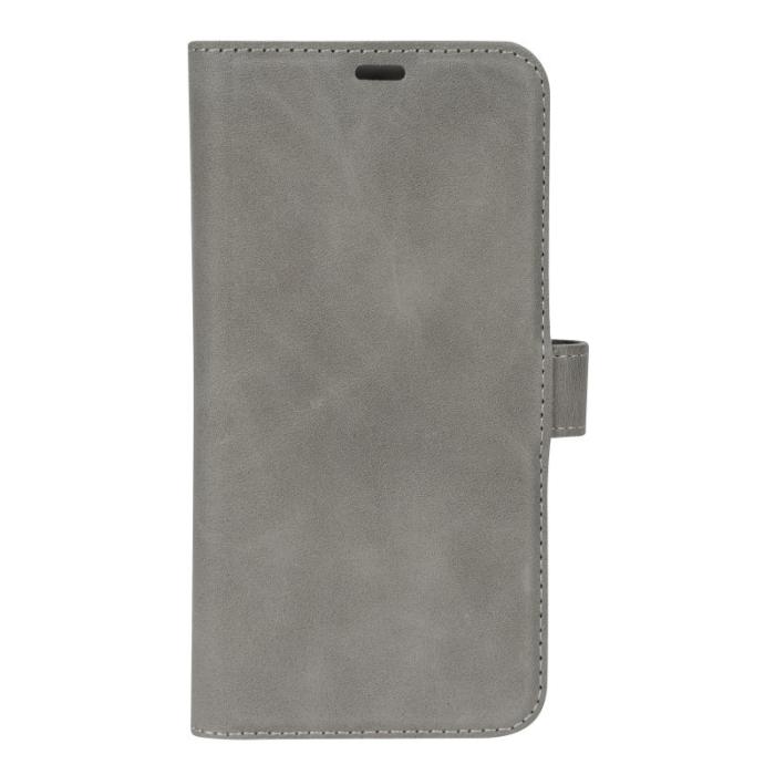Image of   Essentials 2-i-1 Leather Wallet i ægte læder til Apple iPhone XR - Grå