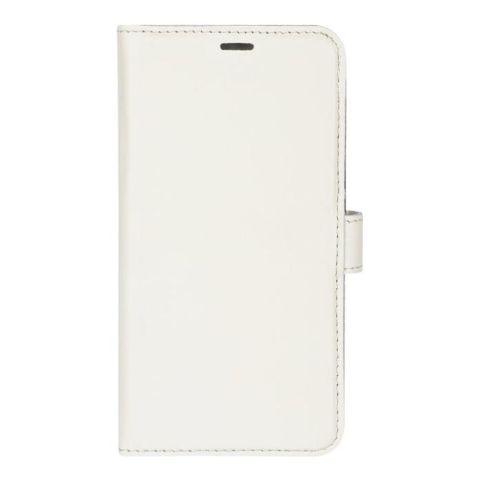 Image of   Essentials 2-i-1 Leather Wallet i ægte læder til Apple iPhone XR - Hvid