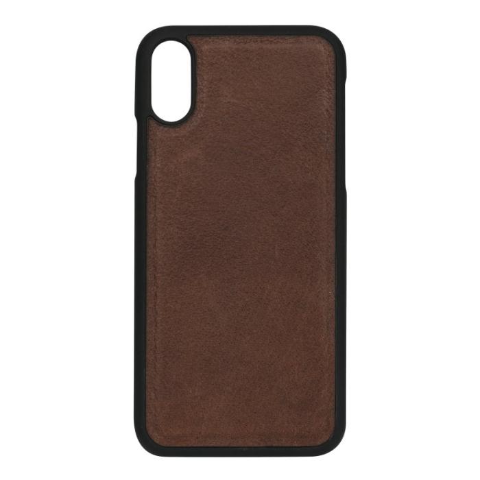 Image of   Essentials 2-i-1 Leather Wallet i ægte læder til Apple iPhone XS Max - Brun
