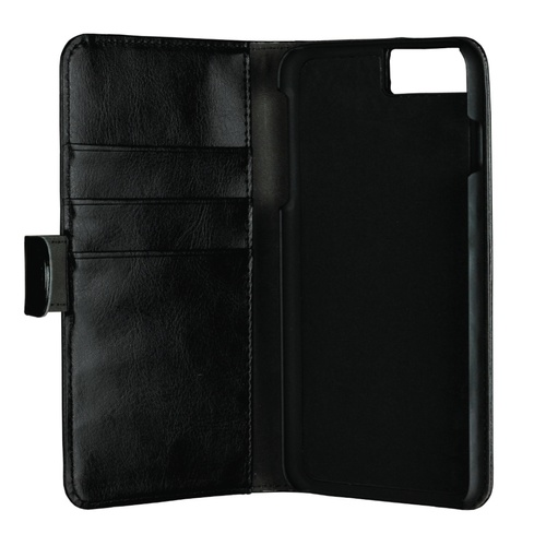 Image of   Essentials 2-i-1 Wallet Case til Apple iPhone 6 Plus/6S Plus/7 Plus/8 Plus - Sort