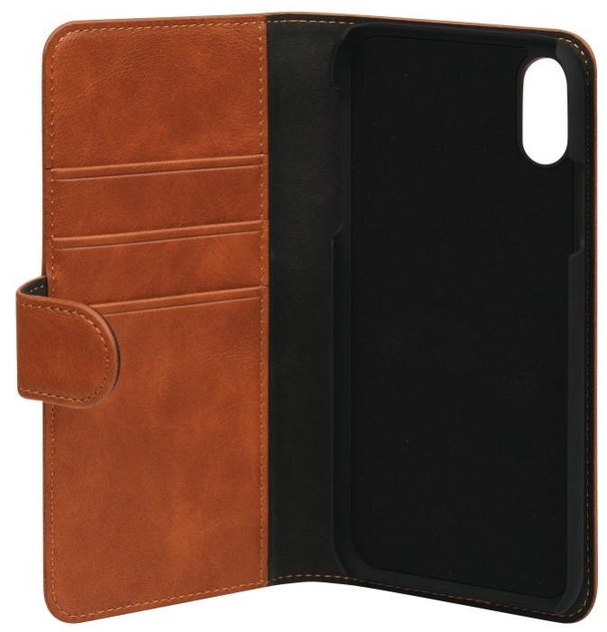 Image of   Essentials 2-i-1 Wallet Case til Apple iPhone X/XS - Brun