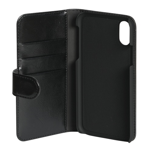Image of   Essentials 2-i-1 Wallet Case til Apple iPhone X/XS - Sort