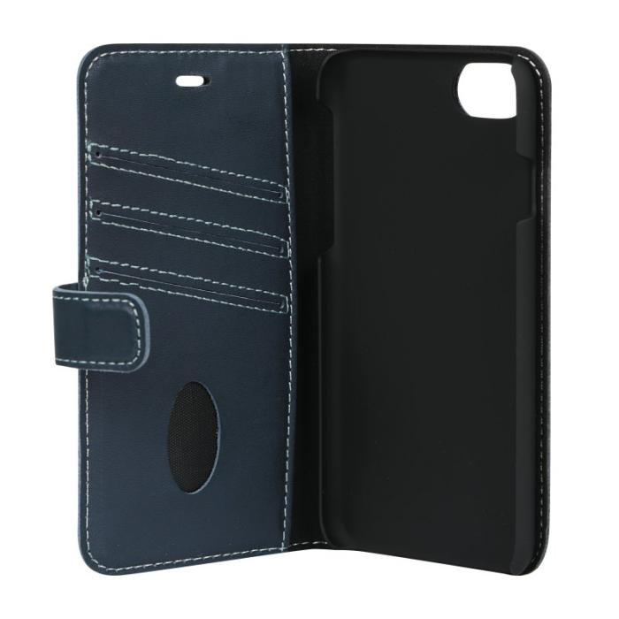 Image of   Essentials Leather Wallet i ægte læder til Apple iPhone 6/6S/7/8 - Blå