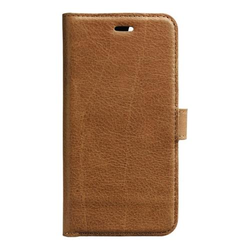 Image of   Essentials Leather Wallet i ægte læder til Apple iPhone 6/6S/7/8 - Brun