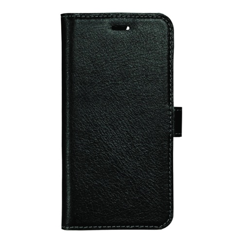 Image of   Essentials Leather Wallet i ægte læder til Apple iPhone 6/6S/7/8 - Sort